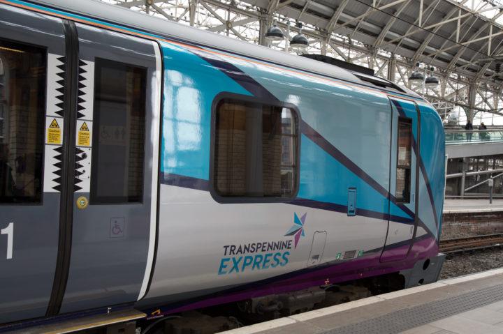 Video First Transpennine Express Exterior Rebrand Aura
