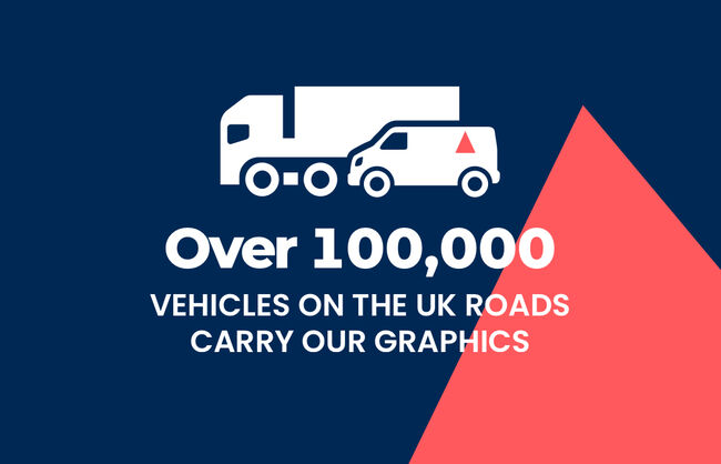 Over 100,000 vehicles on the UK roads carry Aura graphics