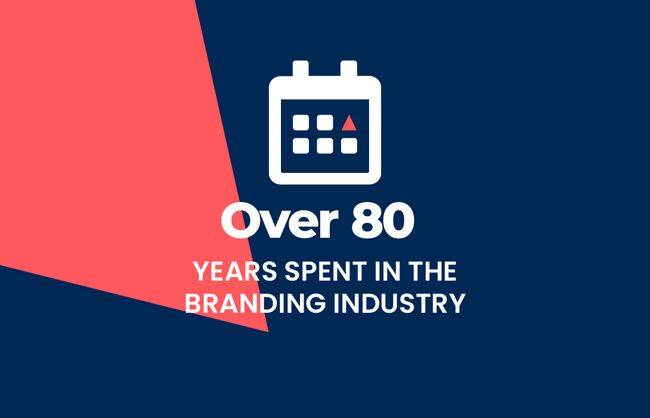 Over 80 years spent in the branding industry