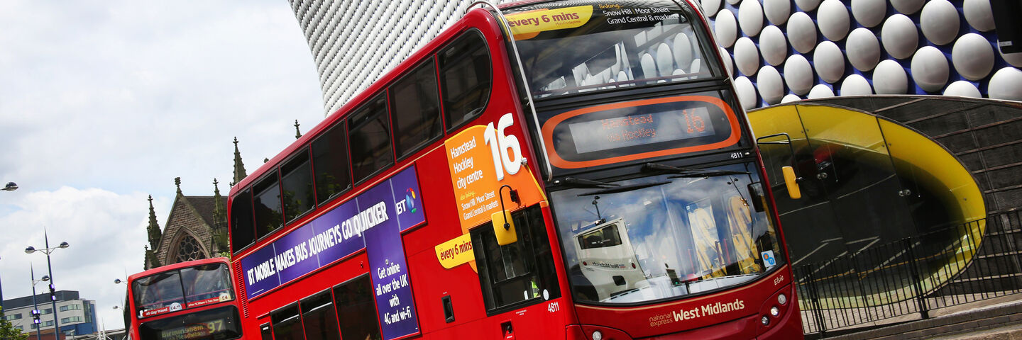 High quality printed wraps on buses and coaches
