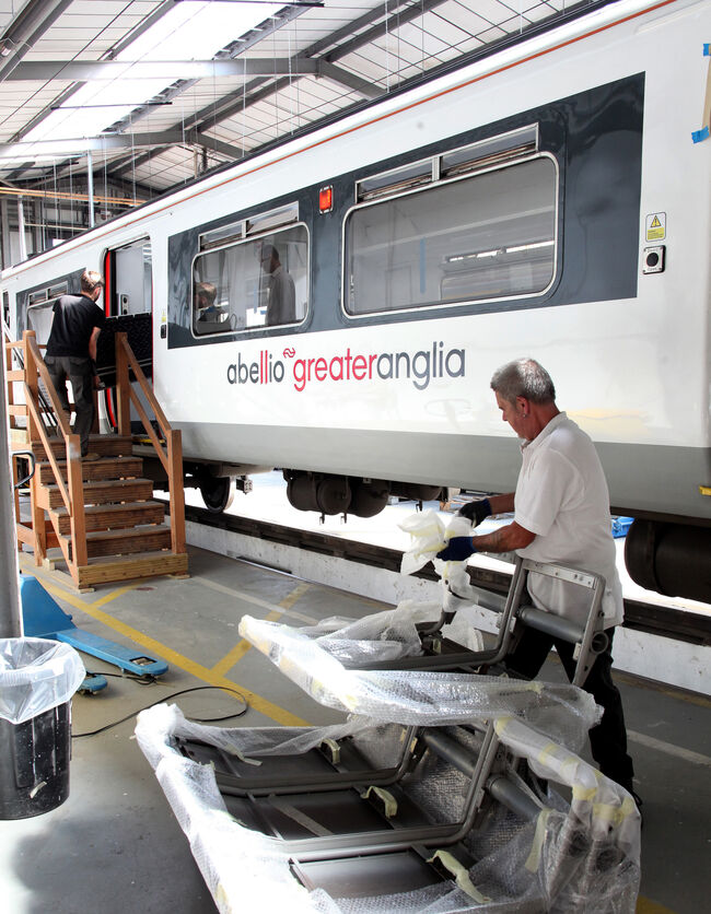 Abellio greater anglia refurbishment