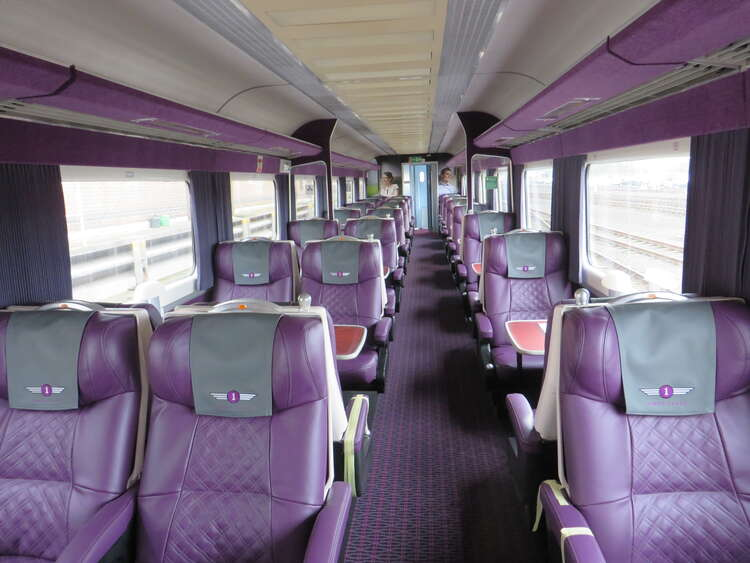 Grand Central Trains 1st Class carriage refurbishment
