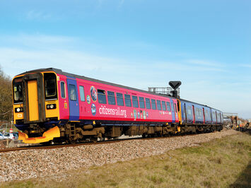 Citizen Rail promotional wrap on First Great Western train