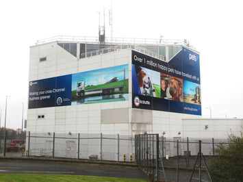 Eurotunnel Tower Building Wrap