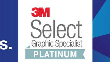 3M Select Platinum Partner - Graphics Specialist - banner