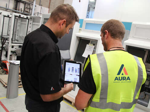 Aura brand implementation project manager & install technican