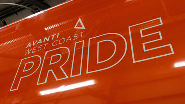 Avanti West Coast and Aura celebrate Pride month with special livery