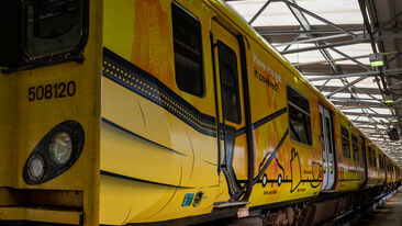 Merseyrail promote face coverings on trains