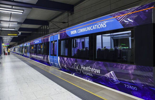 Heathrow Connect Train