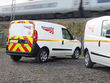 Network Rail Van Wraps