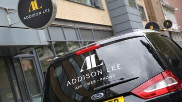 Addison Lee rebrand of fleet vehicles and signage