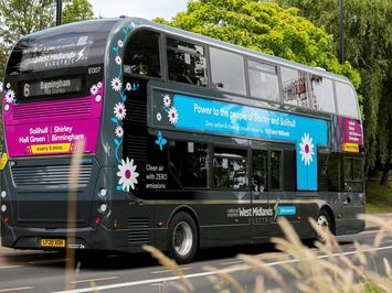 Aura Brand Solutions provide electric double decker bus sustainable wraps