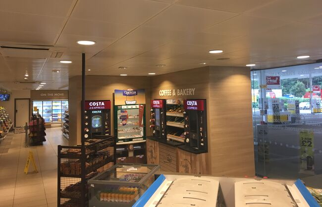 Shell Petrol Station Retail Store Interior Refresh